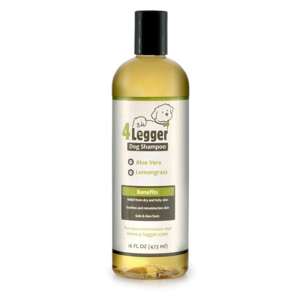 4-LEGGER ORGANIC HYPOALLERGIC LEMONGRASS & ALOE DOG SHAMPOO