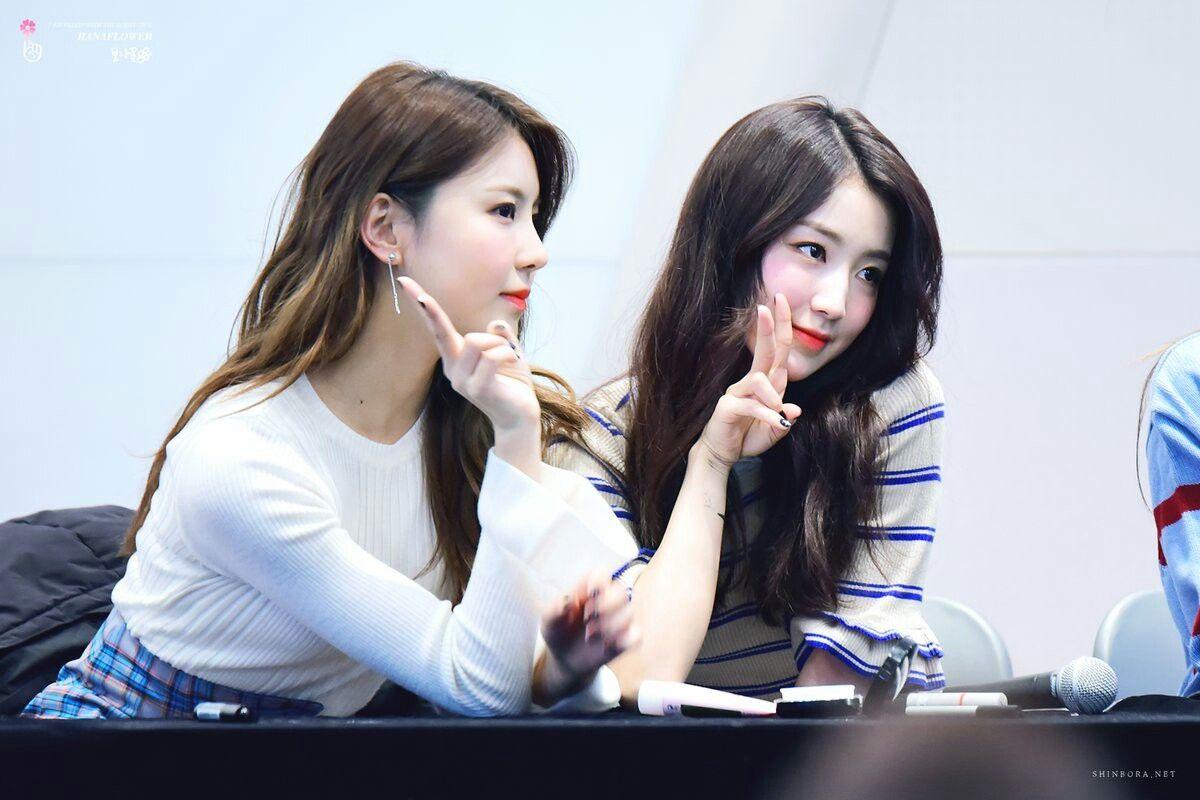 Gugudan's Kim Na Young and Hana